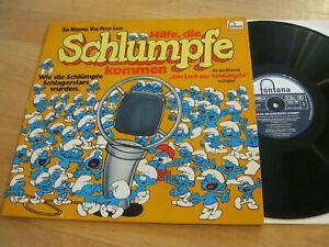 LP-Hilfe-die-Schluempfe-kommen-Peter-Lach-Hoerspiel-Vinyl-Fontana-9294-149