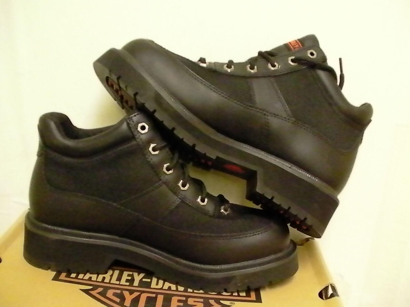 Harley davidson casual Stiefel sierra 5 inch high high high leather Stiefel schwarz Größe 8 us 0696b9
