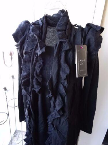 3 piece jumper dress look set top scarf dress black size 8 brand Nancy K