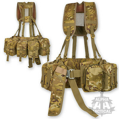 MOLLE PARA AIRBORNE SPECIAL FORCES WEBBING MULTICAM MTP CAMO MODULAR ROLL PIN