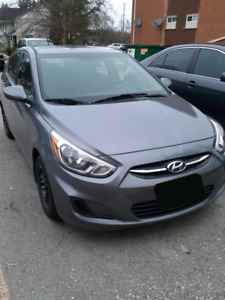2016 Hyundai Accent, 38 100 kms, one owner
