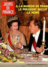 JOURS DE FRANCE N°1557 elisabeth II thierry lhermitte