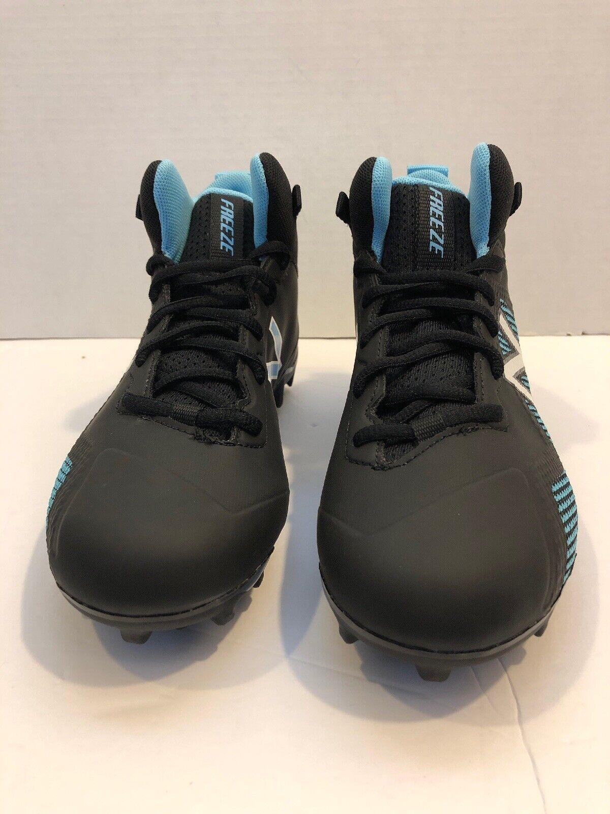 New Balance FREEZE Lacrosse Cleats Kids shoes Size 4.5 FREEZJBK