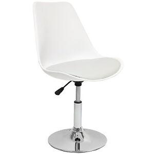 Hartleys grigio bianco sedile girevole scrivania for Scrivania da reception