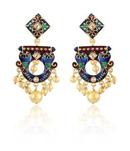 4bac07a2acf Details about Special Indian Handmade Elegant Women Fashion Earrings For  Girls Jewelry