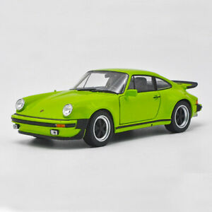 Details about 124 Porsche 911 Turbo 3.0 1974 Model Car Collectible Diecast  Gift Vehicle Green