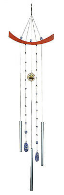 Woodstock Feng Shui Chi Energy Wind Chime LAPIS BLUE  model #CEL