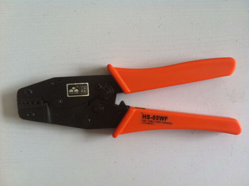 NIB Insulated and Non-insulated Ferrules Ratchet Plier Crimper 0.5-6mm² AWG20-10
