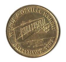 MEDAGLIA MEDAL SHELL VOLISTORIA - WILBUR & ORVILLE WRIGHT - KITTYHAWK - 1903