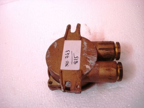 SHIP/'S 100/% ORIGINAL 743 VINTAGE Marine Brass SWITCH JUNCTION for Light