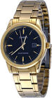 Casio Men's Analog Solar Powered Gold Tone Stainless Steel Watch MTPVS01G-1A