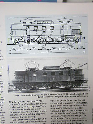 Lokaufriss DRG 26 pr EP 235 E Lok Schlesien 1917 KPEV