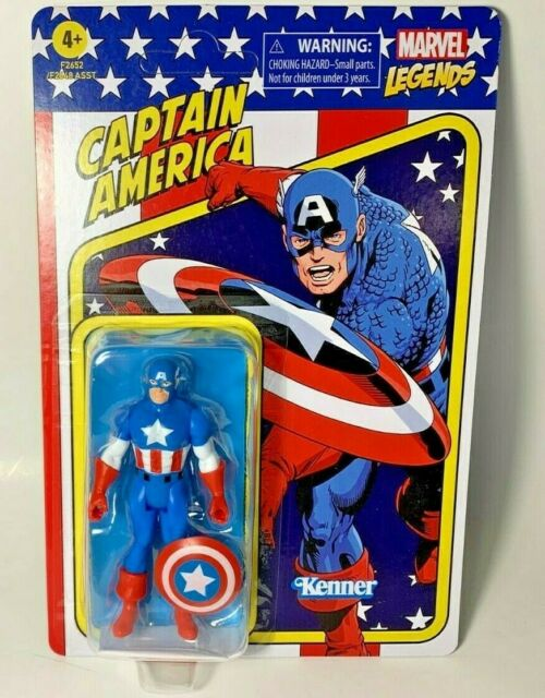 Marvel Legends Retro 375 Collection Unpunched CAPTAIN AMERICA 3.75 in Figure