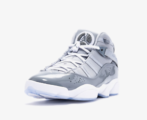 the latest 08802 08973 Details about JORDAN 6 RINGS MENS BASKETBALL RUNNING SHOES SPORTS  GRAY/WHITE 322992 015