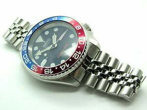 SEIKO-DIVER-039-S-AUTOMATIC-MODIFIED-SUBMARINER-SKX009-7S26-039-FULL-FAT-PEPSI-039