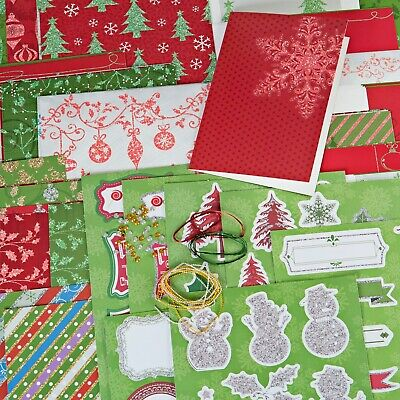PK 2 HOLLY BERRY CHRISTMAS EMBELLISHMENT TOPPERS FOR CARDS-SET 11