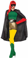 Black Superhero Cape Unisex Cosplay Adult Size Be Your Own Hero