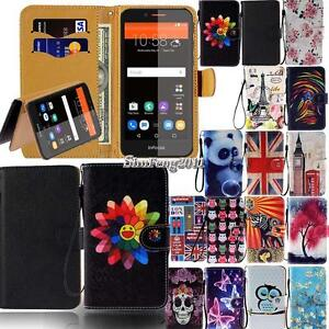 best cheap 4ee09 51738 Details about Leather Flip Stand Wallet Card Cover Case For Various InFocus  Mobile Phones