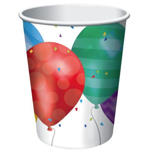 Geschirr Banner /& Dekorationen { Luftballon Blast Geburtstags Party Auswahl