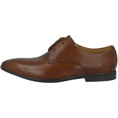 Clarks Bampton Walk Schuhe Herren Halbschuhe Business Schnürer Tan 26135421 Offensichtlicher Effekt