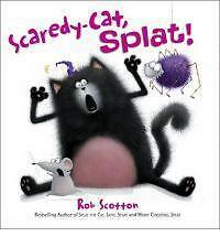 1 of 1 - Scaredy-Cat, Splat! by Rob Scotton (Paperback, 2010) harpercollins book
