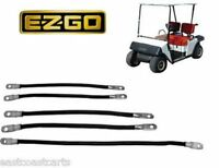 Ezgo Marathon 1986'-1994' Golf Cart 2 Gauge Battery Cable Set