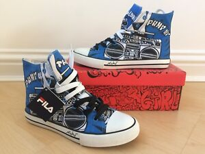01ed3ab1935 Fila Trainers Sneakers Hi Tops LIMITED EDITION Pump Up The Volume ...