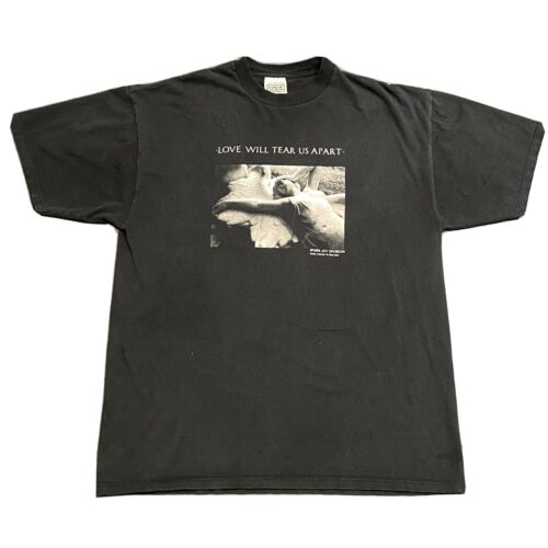 Vintage Joy Division Love Will Tear Us Apart T Shi