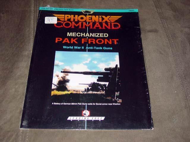 Phoenix Command - Mechanized PAK FRONT - WWII Anti-Tank Guns (SEALED) Leading Ed