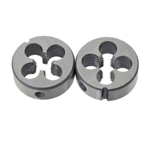 UNC 1//4~1//2 4#~10# Right Hand Alloy Steel Round Die Threading Tool Thread Cutter