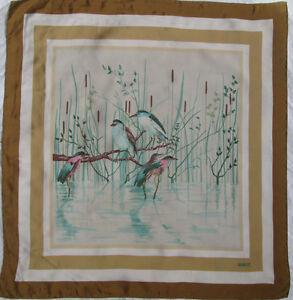 Superbe Foulard GUCCI soie TBEG vintage Scarf 85 x 90 cm   eBay 61cb8572594