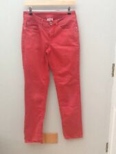 STREET ONE Red Slim Twill Jeans.  36x32. <N1486