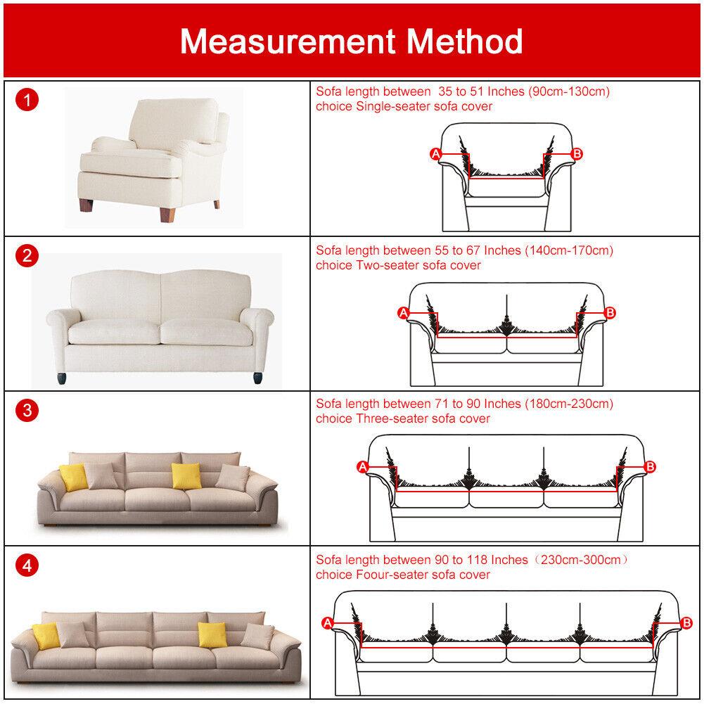 2pcs for L Shape Corner Couch