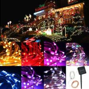20M-200-LED-Solar-Fairy-Lights-String-Lamps-Party-Wedding-Decor-Garden-Outdoor-Q