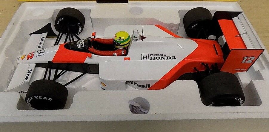1.12 1.12 1.12 MINICHAMPS AYRTON SENNA McLAREN MP4 4 1988 WORLD CHAMPION 540881212    c82f9c