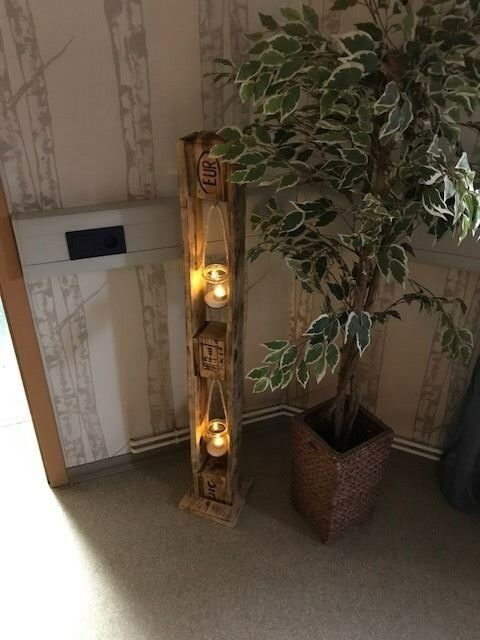 Paletten Leuchtturm Vintage Möbel Unikat Palettenmöbel