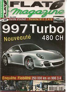 DernièRe Collection De Flat 6 181 Porsche 997 Turbo 3.6 480ch 310km/h 996 3.4 911 S 2.4 Essai 964 Lm MatéRiaux De Choix