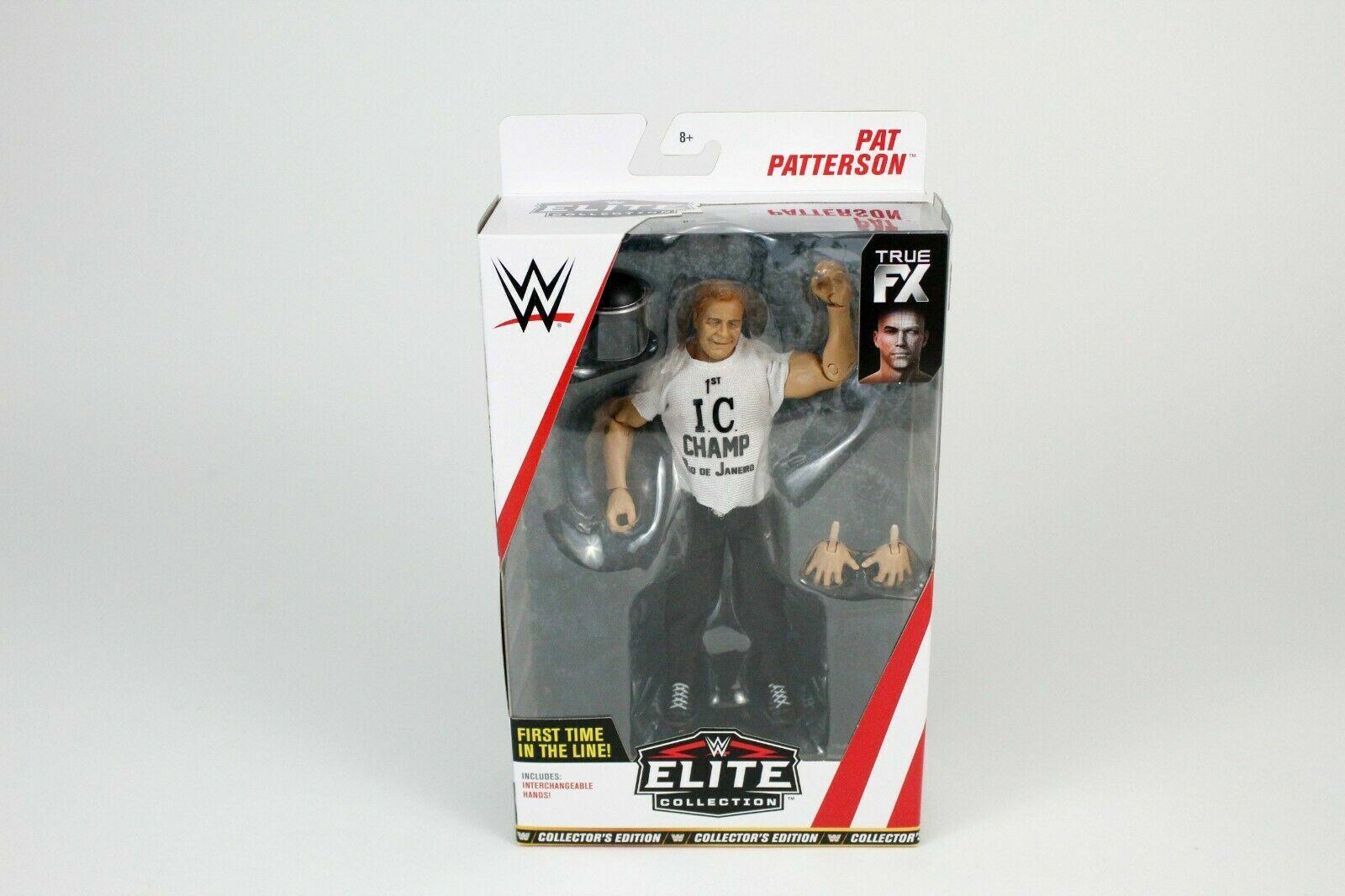 WWE Mattel Pat  Patterson Elite  68 ACTION FIGURE nouveau WALMART Exclusif Chase  beaucoup de surprises