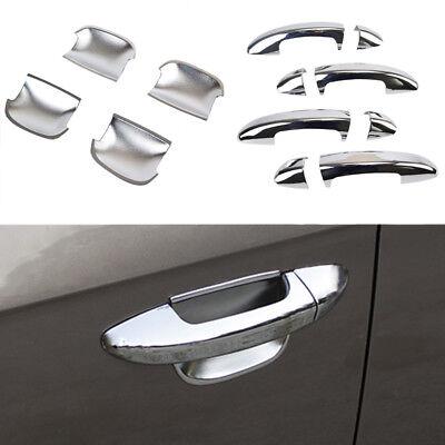 NEW CHROME DOOR HANDLE COVER /& BOWL CUP TRIM FIT FOR 06-10 VW PASSAT B6 3C CC
