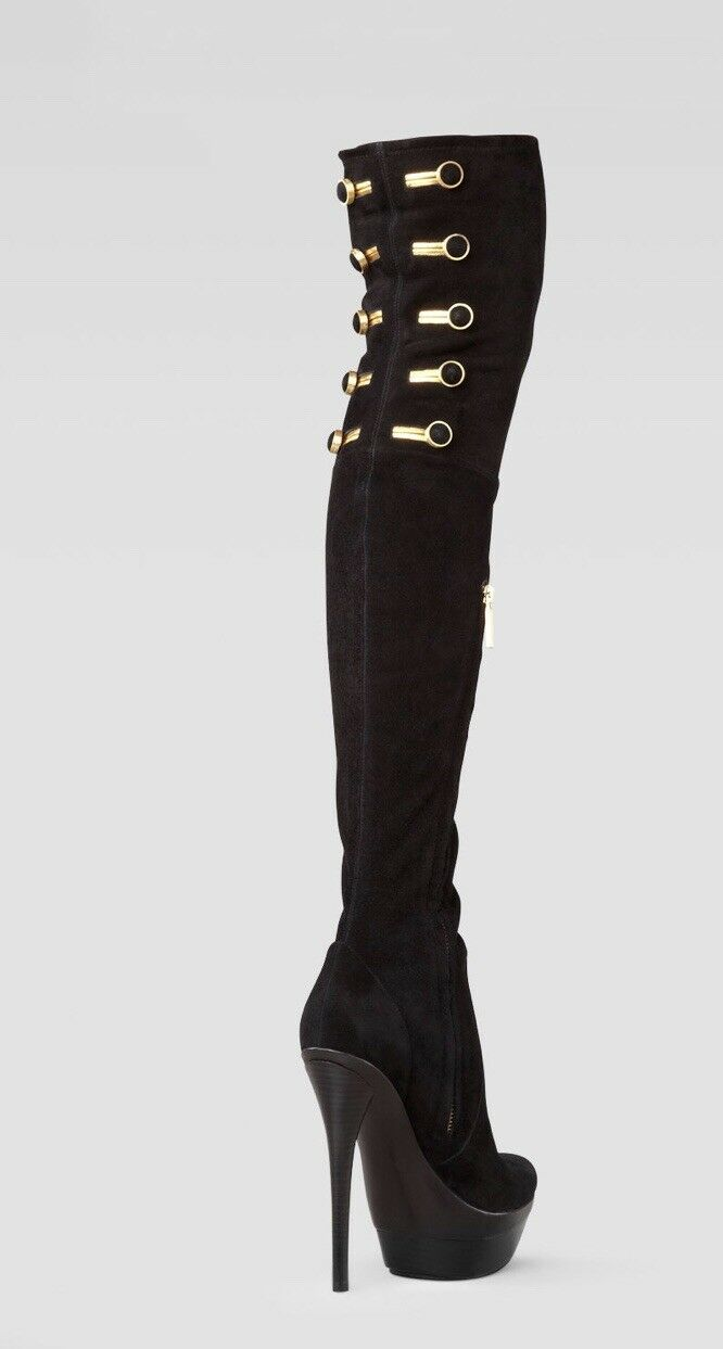 Pre-owned    750 Rachel Zoe Dylan Stretch Suede Over The Knee démarrage SZ 7 f436ab