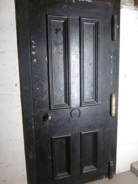 Martin Briggs Vault Safe Door & trim casing + fire door antique 1858 old  Bank - Martin Briggs Vault Safe Door & Trim Casing + Fire Door Antique 1858