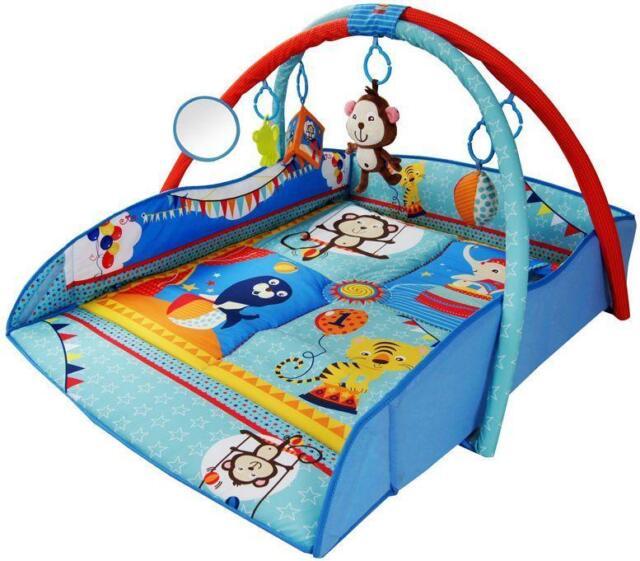 Baby Light Musical Ocean Adventure Gym Sea Life Activity Playmat Play Mat 0m+