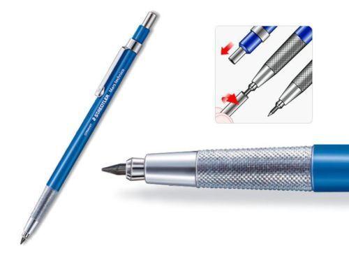 STAEDTLER Mars Technico 780C Lead Holder Clutch Mechanical Pencil 2mm HB Lead