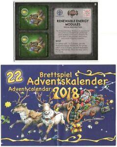 Brettspiel Adventskalender Promo #22: Crisis, Renouvelable Energy Modules De
