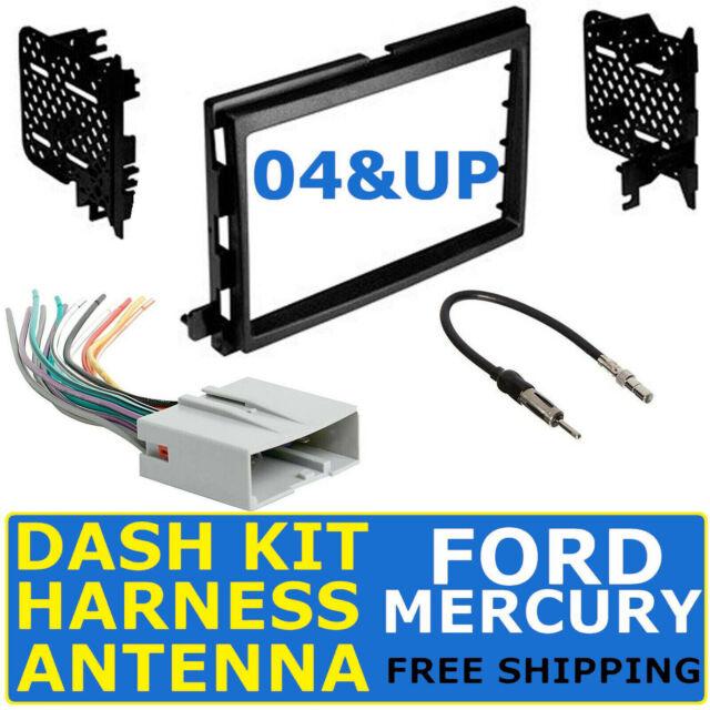 Power Acoustik Cd Usb Bt Stereo Dash Kit Harness For 03