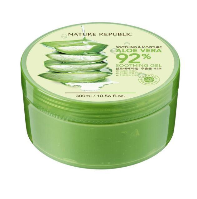 Nature Republic Soothing & Moisturising 92% Aloe Vera Relaxing Gel (300ml)