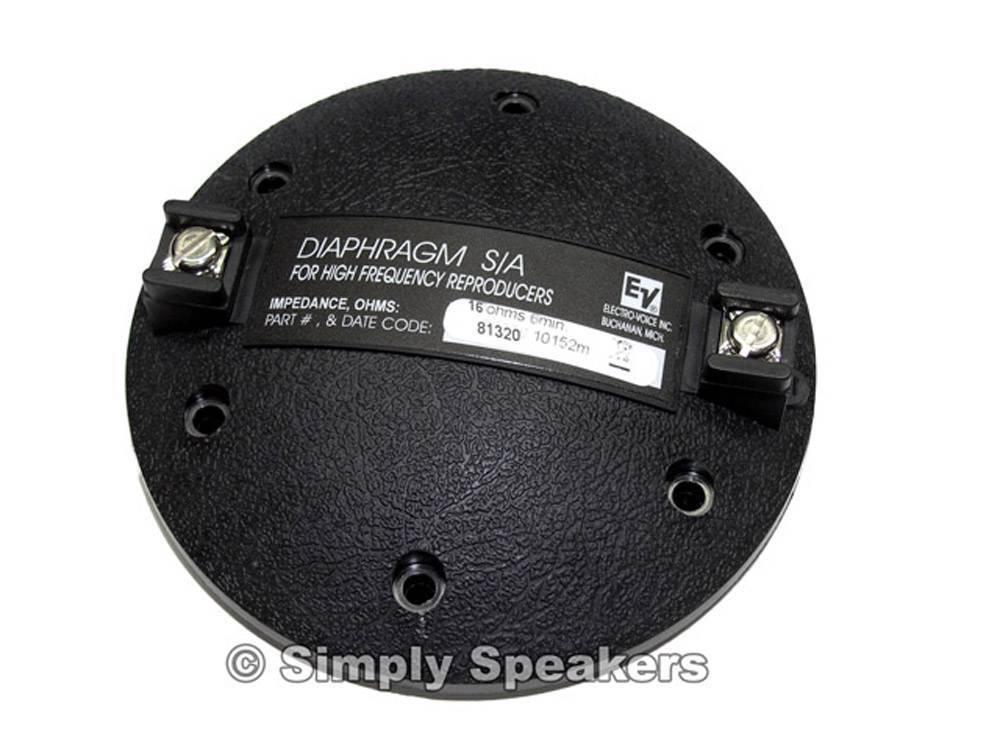 EV Factory Speaker Diaphragm for Electro Voice BTH-2.5 MTS-1 Ohm Horn Driver