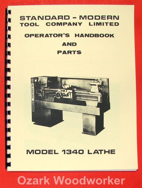 "CLAUSING 12/"" 5400 Series Metal Lathe Operator/'s /& Parts Manual 0136"