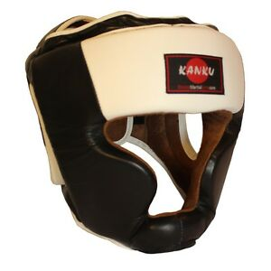 MMA Boxing Head Gear Muay Thai Training Full-Face Head Guard Kickboxing
