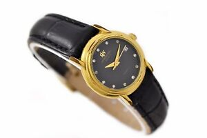 Vintage-Raymond-Weil-2611-Geneve-automatisch-Wind-Damen-Uhr-562